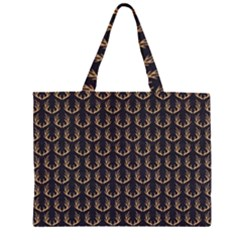 Deer Antlers Large Tote Bag