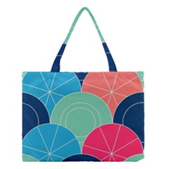 Diagonal Color Way Medium Tote Bag