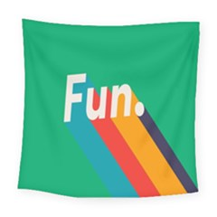 Fun Square Tapestry (large)