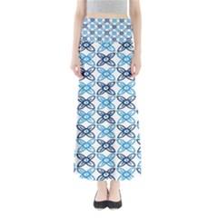 Geometri Flower Maxi Skirts