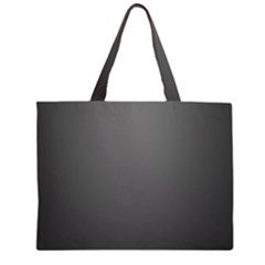 Gray Color Large Tote Bag