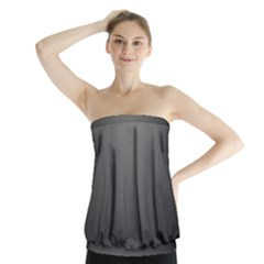 Gray Color Strapless Top