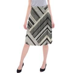 Geometric Home Decor Fabric Midi Beach Skirt