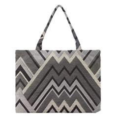 Geometric Home Decor Fabric Medium Tote Bag