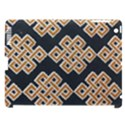 Geometric Cut Velvet Drapery Upholstery Fabric Apple iPad 3/4 Hardshell Case (Compatible with Smart Cover) View1