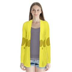Hole Cheese Yellow Cardigans