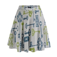Key High Waist Skirt