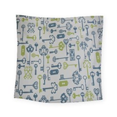 Key Square Tapestry (small)