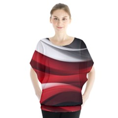 Lines Red Blouse