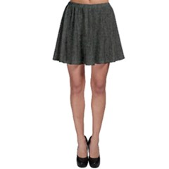Linen Solid Fabric Skater Skirt