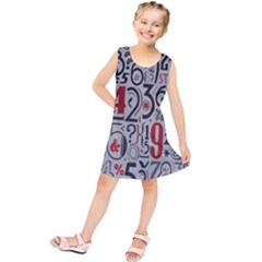 Number Kids  Tunic Dress