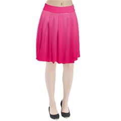 Pink Color Pleated Skirt