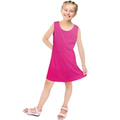 Pink Color Kids  Tunic Dress