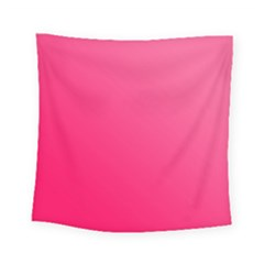 Pink Color Square Tapestry (small)