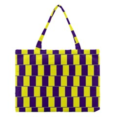 Preview Wallpaper Optical Illusion Stripes Lines Rectangle Medium Tote Bag