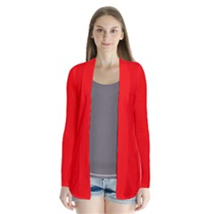 Red Color Cardigans