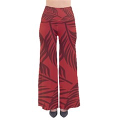 Red Palm Pants