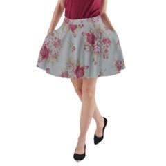 Rose A-Line Pocket Skirt