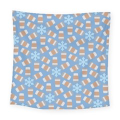 Snow Pillow Square Tapestry (large)
