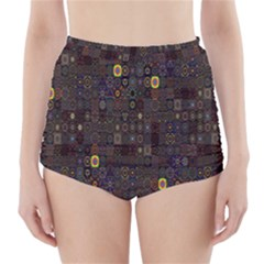 Preview Form Optical Illusion Rotation High-Waisted Bikini Bottoms