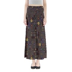 Preview Form Optical Illusion Rotation Maxi Skirts