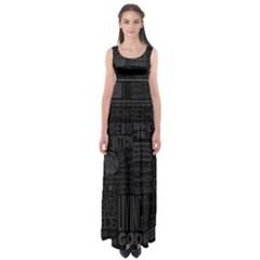 Wallpapers Stereogram Texture Pack Empire Waist Maxi Dress