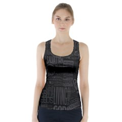 Wallpapers Stereogram Texture Pack Racer Back Sports Top