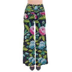 Tropical And Tropical Leaves Bird Pants