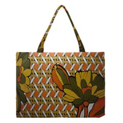 Lattice Medium Tote Bag