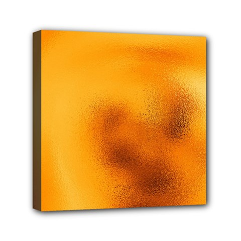 Blurred Glass Effect Mini Canvas 6  X 6