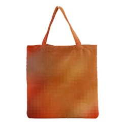 Bright Tech Background Grocery Tote Bag