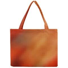 Bright Tech Background Mini Tote Bag