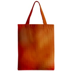 Bright Tech Background Zipper Classic Tote Bag