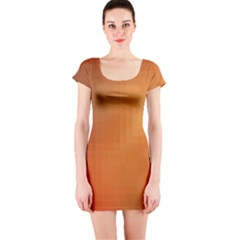 Bright Tech Background Short Sleeve Bodycon Dress
