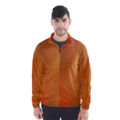 Bright Tech Background Wind Breaker (Men)