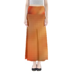 Bright Tech Background Maxi Skirts