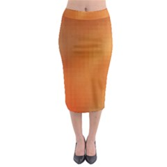 Bright Tech Background Midi Pencil Skirt