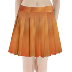 Bright Tech Background Pleated Mini Skirt