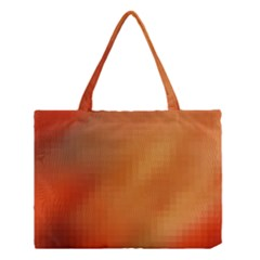 Bright Tech Background Medium Tote Bag