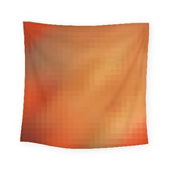 Bright Tech Background Square Tapestry (small)