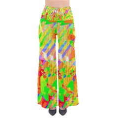 Cheerful Phantasmagoric Pattern Pants