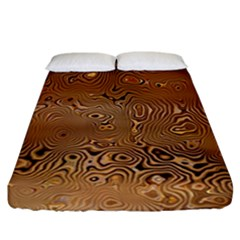 Circuit Board Fitted Sheet (california King Size)