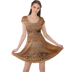 Circuit Board Cap Sleeve Dresses