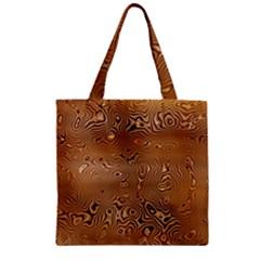 Circuit Board Zipper Grocery Tote Bag