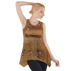 Circuit Board Side Drop Tank Tunic