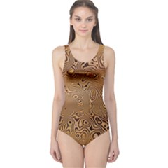 Circuit Board One Piece Swimsuit