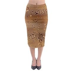 Circuit Board Midi Pencil Skirt