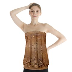 Circuit Board Strapless Top