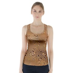Circuit Board Racer Back Sports Top