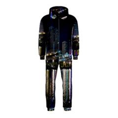 Cleveland Building City By Night Hooded Jumpsuit (kids)